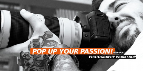 Workshop: Master your DSLR and learn Professional studio